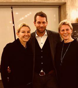 """Christiane Bernecker, Bodo Janssen und Judith Claushues bei der Filmvorstellung von """"Die Stille Revolution""""."""
