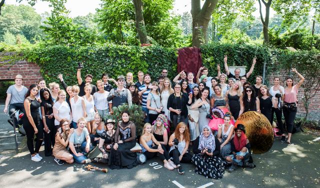 Das Studierenden-Team für den Köln Kalender 2018