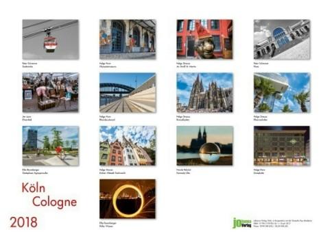 Köln Kalender 2018: Diese Motive erwarten Sie Monat für Monat!