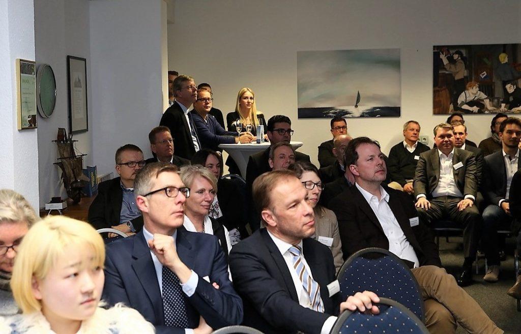 Das Publikum beim Vortrag