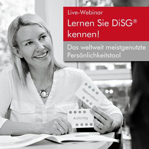 DiSG®-Webinar am 16.05.18
