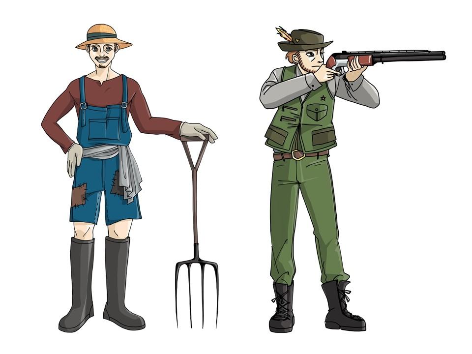 Hunter-Farmer-Modell im DiSG-Vergleich