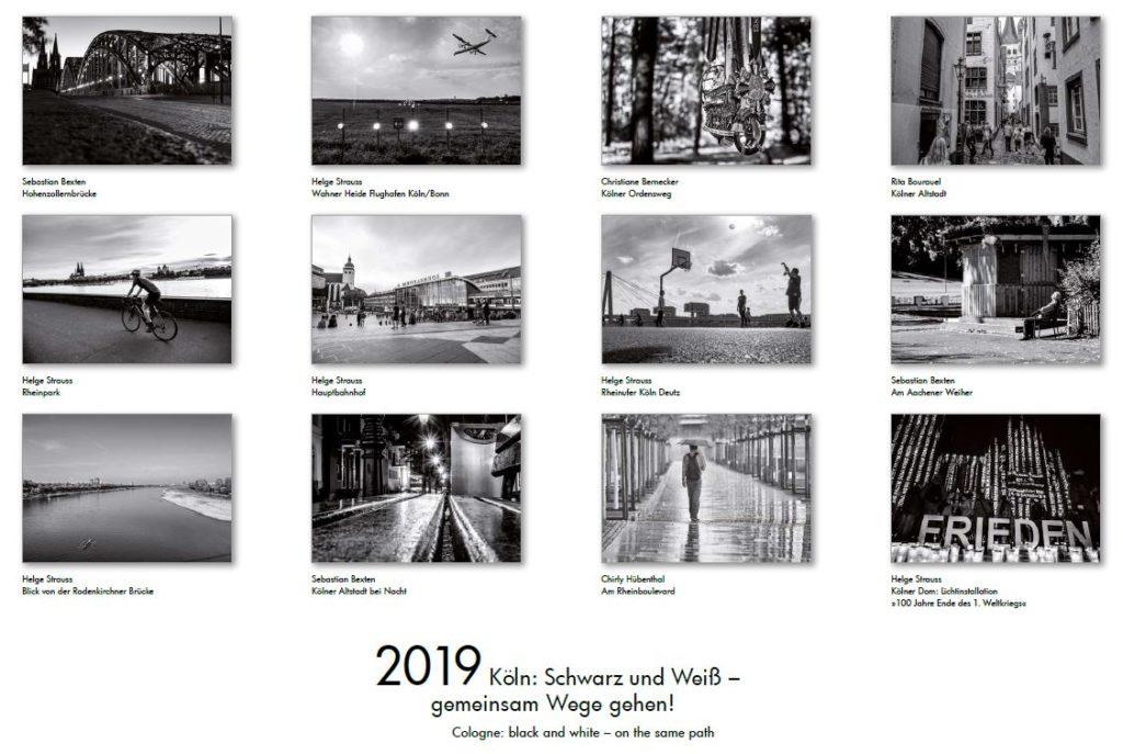 Köln Kalender 2019: Diese Bilder erwarten Sie.